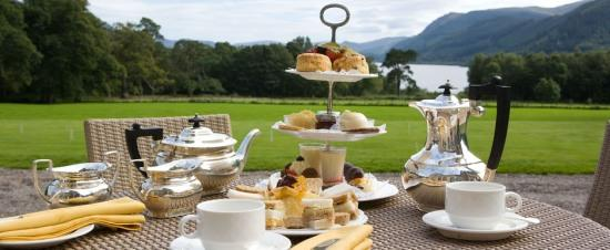 Traditional British afternoon tea