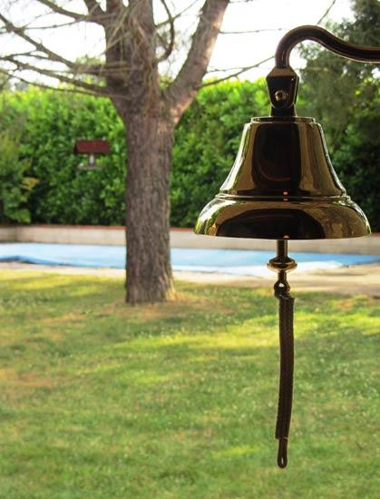 The bell at La Selve